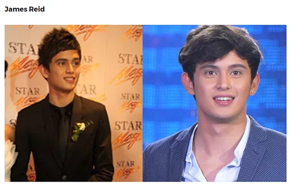Throwback: Celebrities from their newbie faces to top stars, Star Magic Ball edition