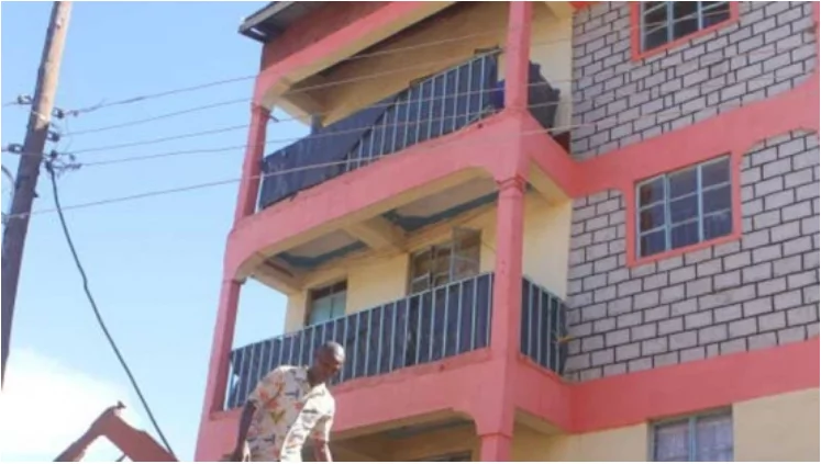 Kisii residents forcefully evacuated as another building starts to crack