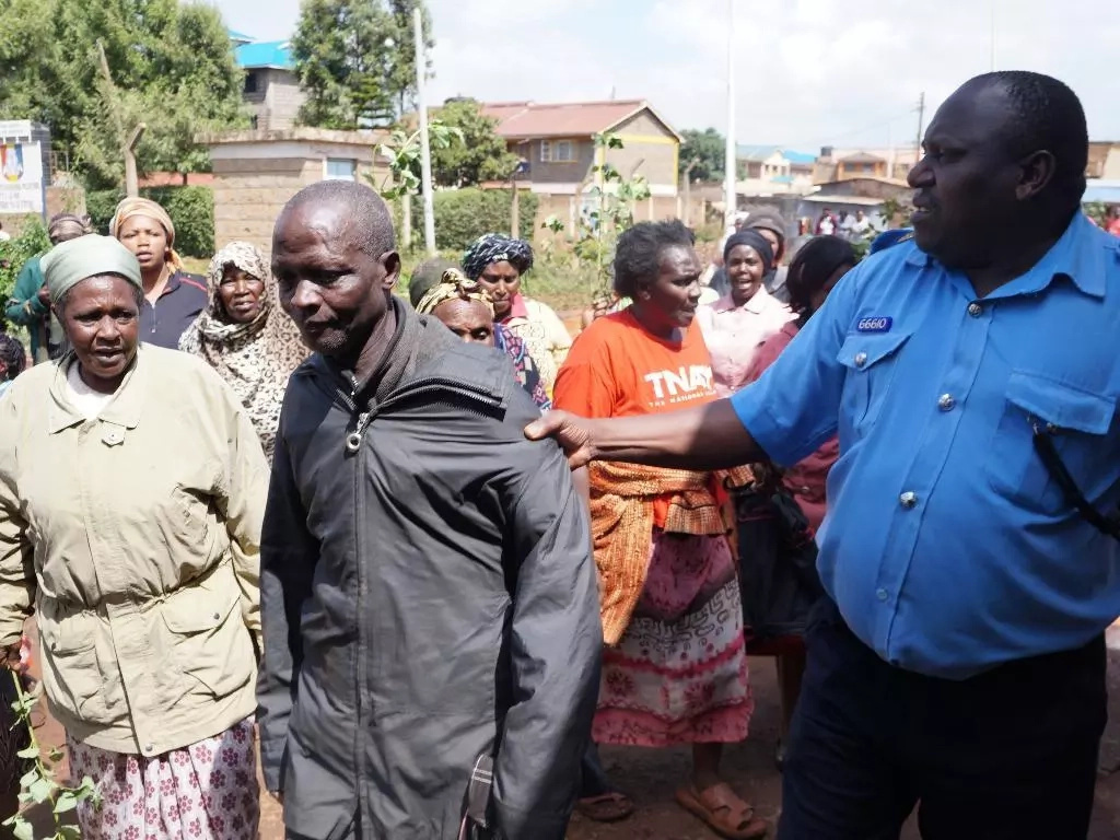 Kiambu women savagely beat their men for drinking