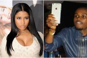 Comedian Chipukeezy enjoys enviable FLIRT session with Nicki Minaj (VIDEO)