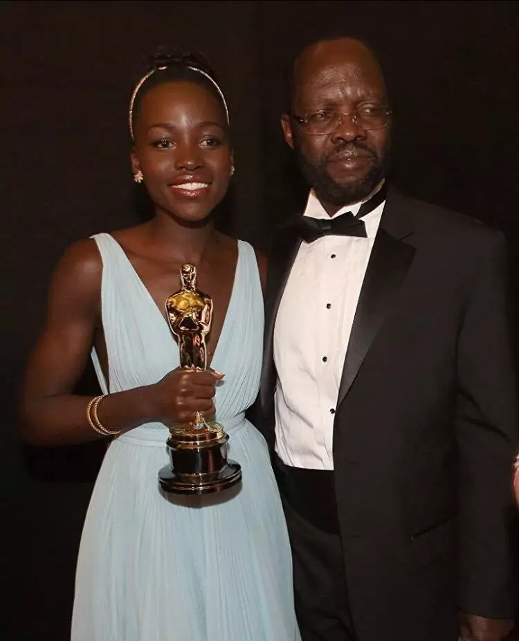 Lupita Nyong'o misses her father's inauguration but her compensation package is too sweet