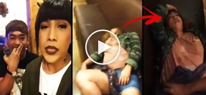 Vice Ganda got tipsy while drinking with friends inside a bar. But what he did to his drunk friend who passed out will shock you!