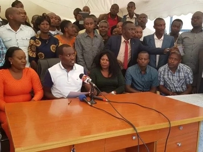 Viongozi kutoka jamii ya Wagusii wanamtaka Raphael Tuju kumuomba msamaha jaji mkuu David Maraga