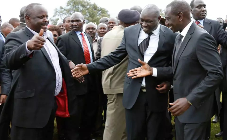 isaac ruto bails on Bomas meeting