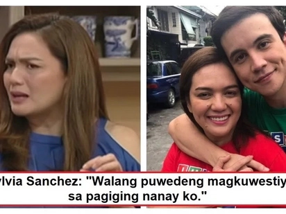 "Sylvia Sanchez speaks up about allegations that she denied her firstborn; Sylvia to bashers: ""Wala akong pakialam"""