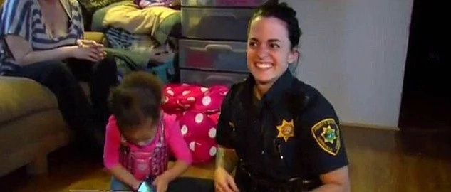 2-Year-Old Girl Calls Police When She Can't Get Her Pants On (Video)