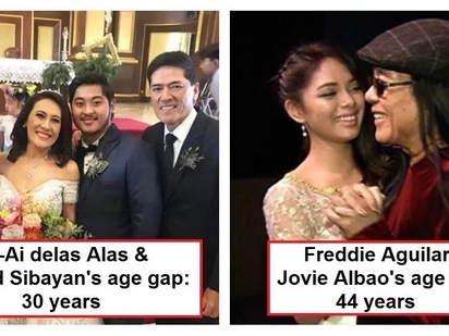 Age doesn't matter sa pag-ibig! These 11 Pinoy celebrity couples have huge age gaps