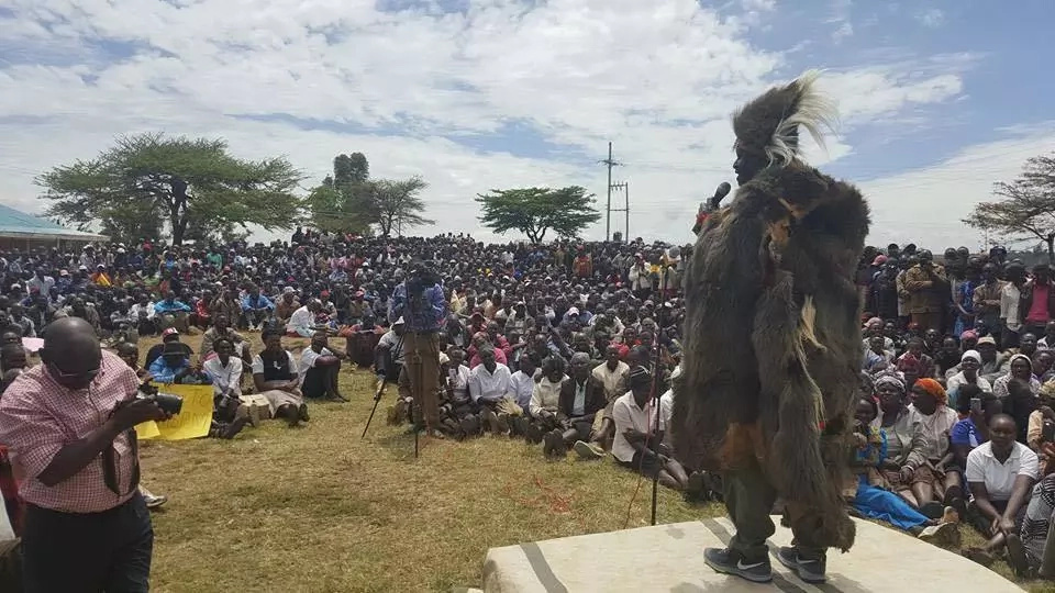 Raila Odinga in Uasin Gishu