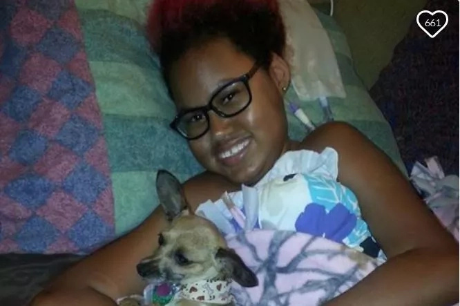 This disabled 14-year old is going to end her life after one last prom