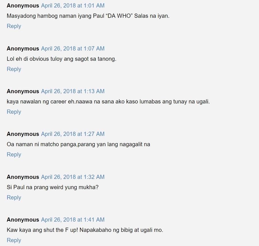 Paul Salas, hina-hunting ang reporter na nagtanong kay Barbie Imperial kung gusto siya ng magulang nito