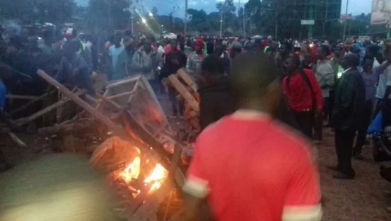 Chaos erupt in Kisii town after AP shoot two women dead