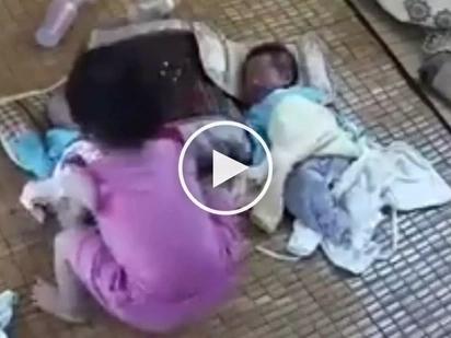 Kawawa yung sanggol! Pinoy baby suffers 2 shocking accidents at the hands of his curious sister