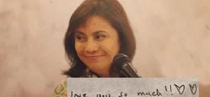 Almost five years after Jesse Robredo passed away, VP Leni has once again received a love letter. Find out who it's from!