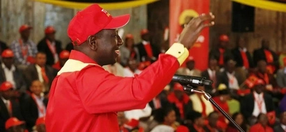 Ruto finishes Raila, Kalonzo and Wetangula in one paragraph and its mean
