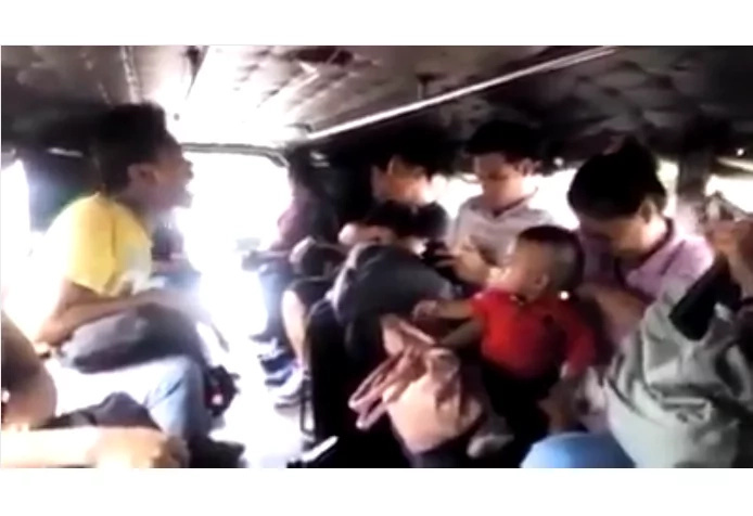 Netizens tried not to laugh watching this jeepney joyride video.