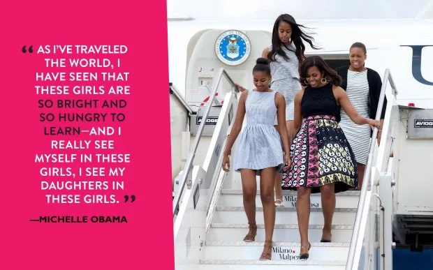 Michelle Obama visits Liberia and Morocco