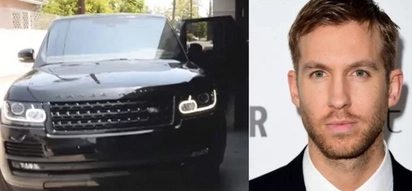 Calvin Harris, involved in another car accident?