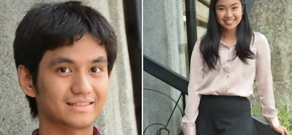Sila na! These two juggled studies while being in a relationship and they graduated with honors!