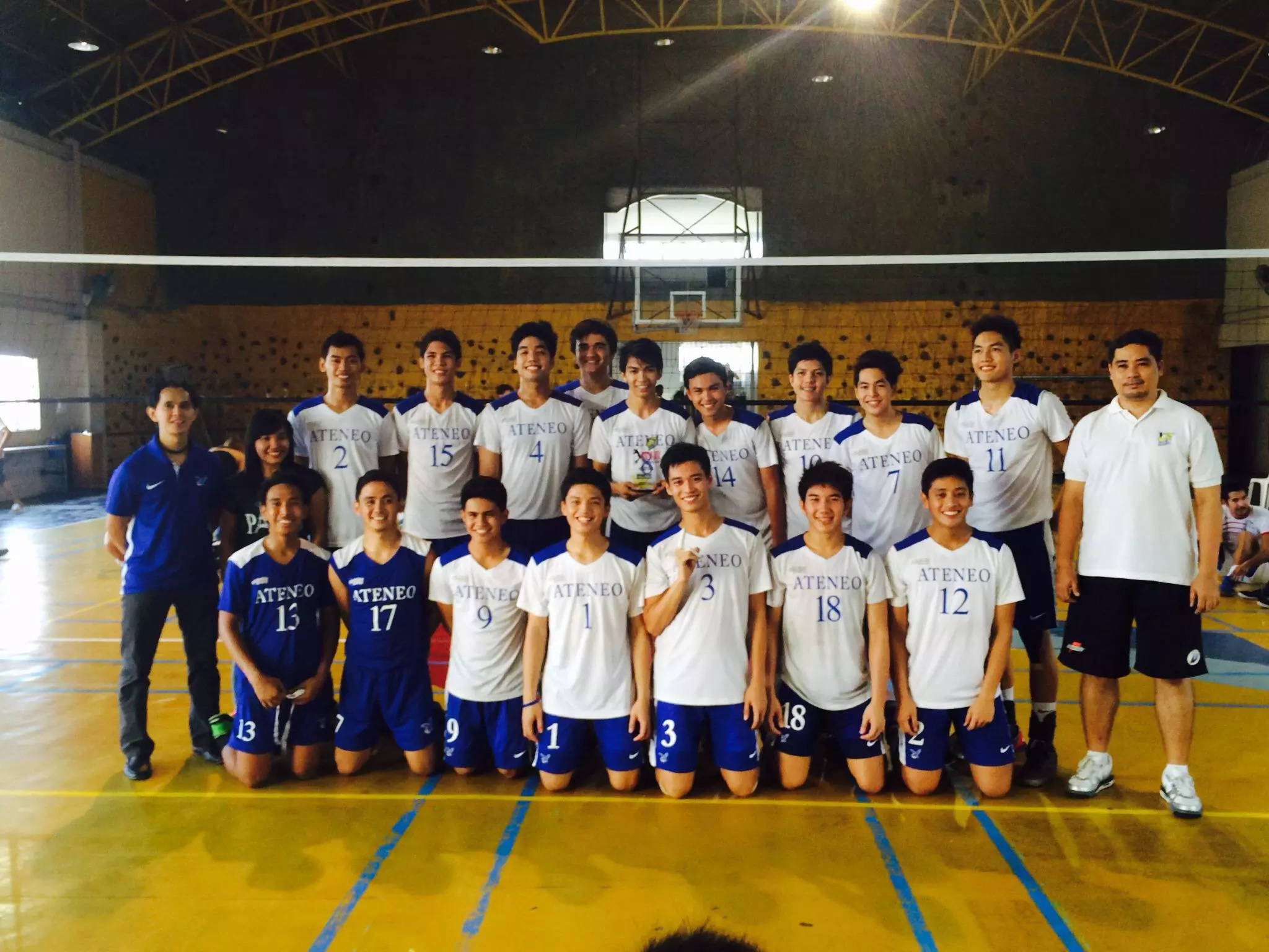 Ateneo books first ticket in UAAP Season 78 Men's Volleyball Finals