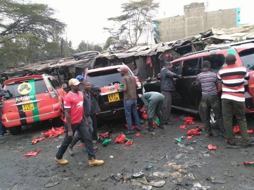 Branded Jubilee SUVs scrubbed after party launch