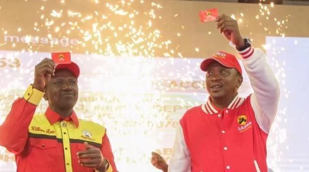 Jubilee ni ya makabila mawili, Asema Ruto