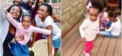 Video of Betty Kyallo and Dennis Okari's adorable daughter sing and dance will make your day