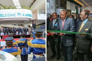 Uhuru commissions East Africa's biggest mall and it is in Nairobi (photos)