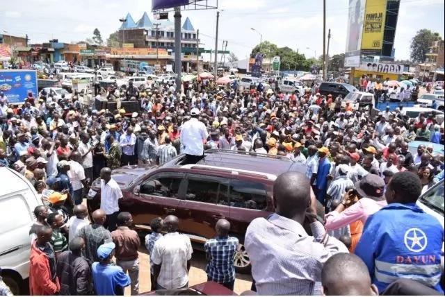 After successful rally in Eldoret, Raila takes NASA to Meru and Tharaka Nithi (photos)