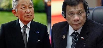 Di sila MFEO! Pagkamatay ng kamag-anak ni Emperador Akihito dahilan ng pagpaliban ng pagkikita nila ni Duterte