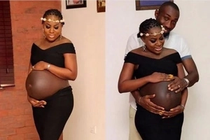 10 photos that prove you can be pregnant and chic! So touching and stylish