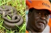 Raila Odinga's rally disrupted by a snake