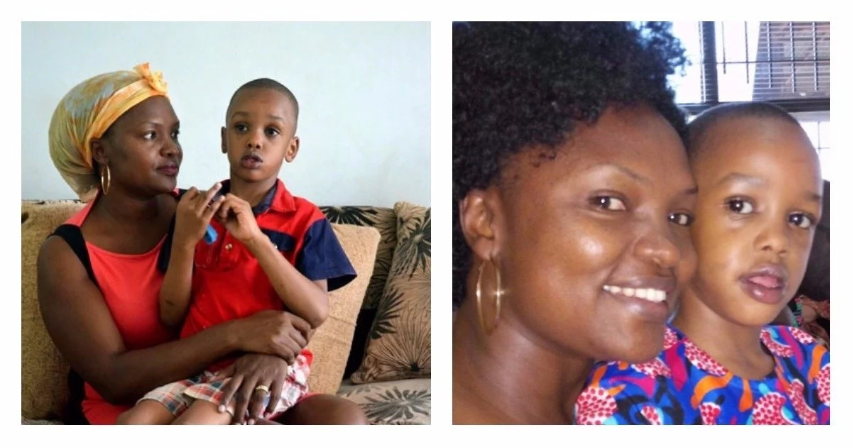 Mother grapples with 6-year-old son's rare health condition (photos)