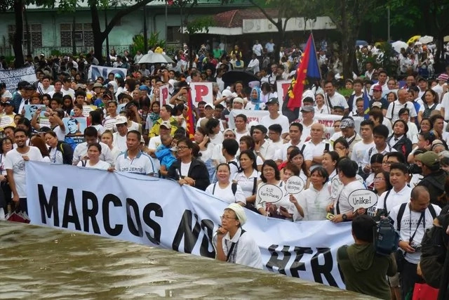 Human rights lawyer claims Marcos burial is pure defiance of the law