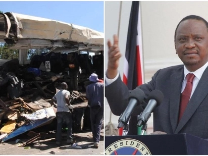 Uhuru speaks tough after a series of tragic road accidents in the month of December