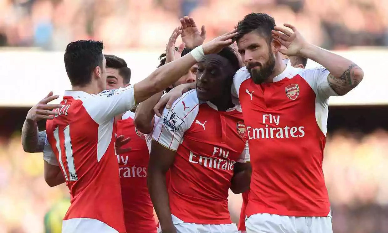 Arsenal climb to third place as Welbeck goal beats Norwich