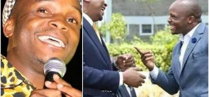 Mcheshi Jalang'o aanzisha ujenzi wa jumba la mamilioni ya pesa kwao kijijini (picha)