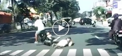 Kawawang lola! Reckless motorist hits lola at Commonwealth Ave and didn't even bother to stop