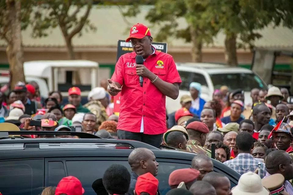 Do not vote for Raila, he wants a coalition government - Uhuru to Meru voters
