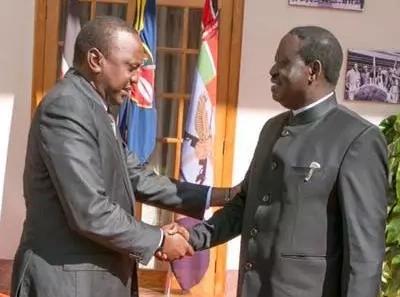Haya ndiyo Uhuru aliyomwambia Raila Odinga baada ya kukutana kwenye jukwaa moja