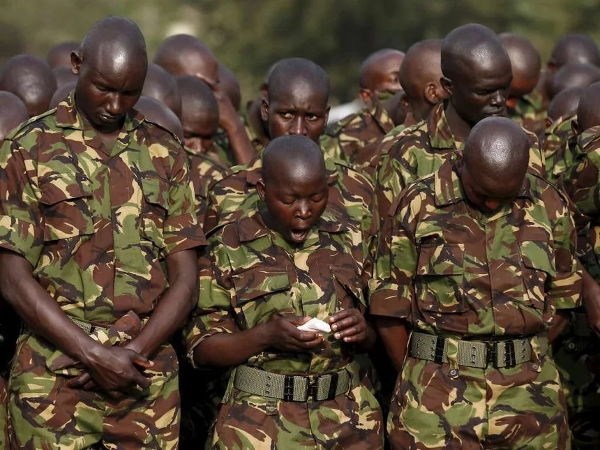 Kenyan woman talks dirty about her KDF lover