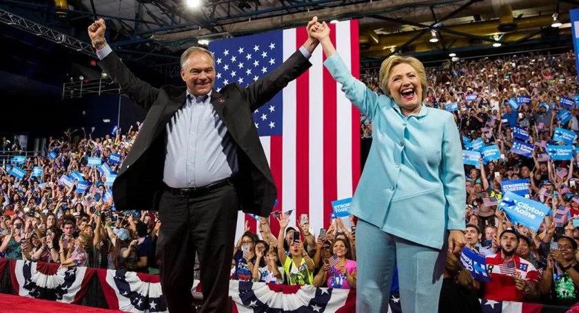 Hillary Clinton hace historia con el partido demócrata