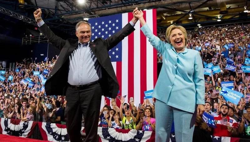 Hillary Clinton hace historia con el partido demócrata estadounidense