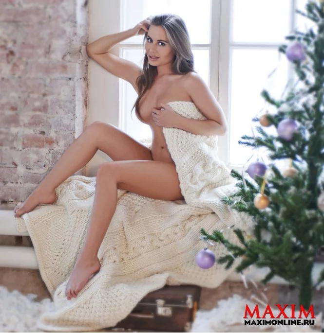 This hot Russian politician stripped down for Maxim!