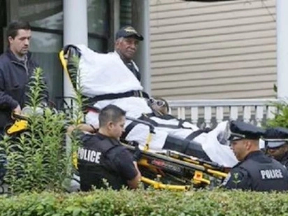 Police Tie A Veteran To A Stretcher And Kick Him Out Of His Home. Then Happaned Something Unexspected