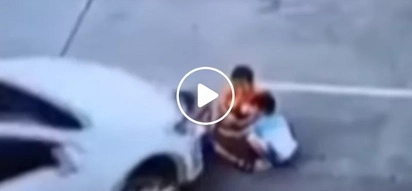 Wag kasi mag cellphone! Horrifying Video of Chinese driver crushing children goes viral