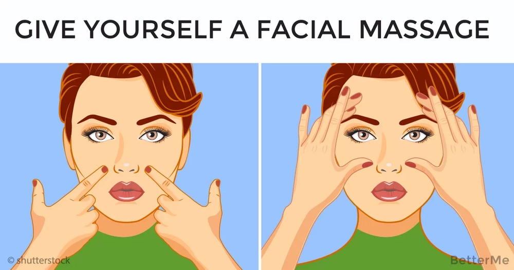 Easy ways to give yourself a facial massage and forget about wrinkles top easy ways to give yourself a facial massage and forget about wrinkles solutioingenieria Image collections
