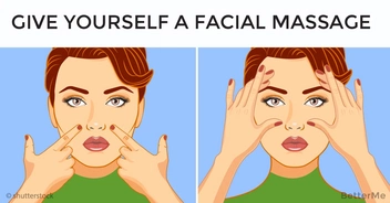 Top easy ways to give yourself a facial massage and forget about wrinkles