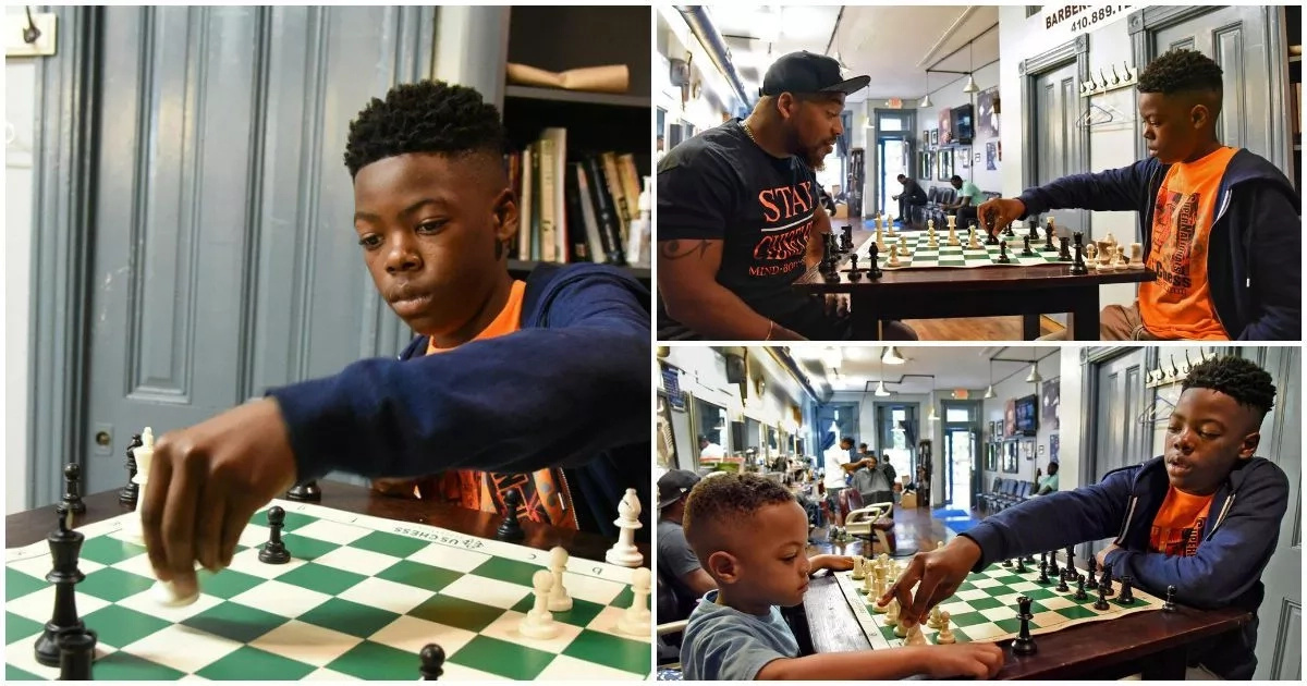 Meet 12-year-old genius who beat 249 players to become his city's first-ever national youth chess champion (photos)