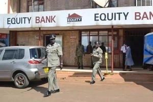 Just In: Thugs steal Millions at Kayole Equity bank in movie-like ROBBERY