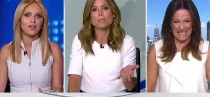 Australian TV Host Has A Tantrum Because Coworker Has Same Colored Dress